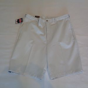 Roundtree & Yorke Tall Man Flat Front New Shorts